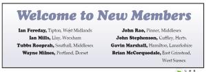 new members 153